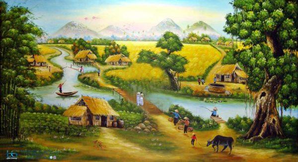 thơ 4 chữ về quê hương