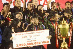 Quảng Nam FC thăng hạng tại V.League 2014