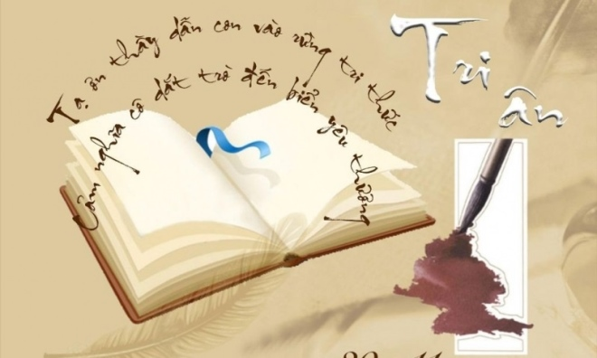 Thơ tặng thầy cô giáo ngày 20-11