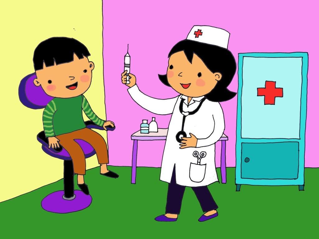 Bài thơ: Bé làm bác sĩ